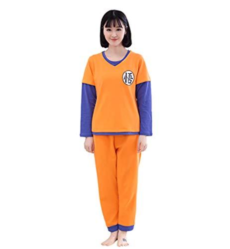 2019 Dragon Ball Family Pyjamas Set Weihnachtsoutfit Pijama Nachtwäsche Mama und ich Kleidung Mama Tochter Sun Wukong Familienkleidung