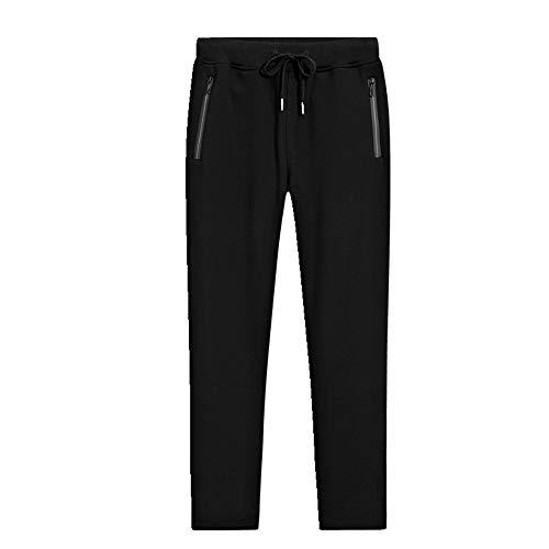 N\P Otoño e Invierno Casual Pantalones de los Hombres Pantalones de Felpa Bulky Elástica Pantalones Sueltos Pantalones de Deportes
