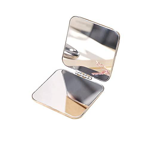 FEIHAIYANY Espejo de maquillaje pequeño y portátil, adecuado para espejo de peluquería,...