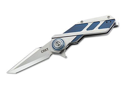 Columbia River Knife & Tool Unisex– Erwachsene Taschenmesser CRKT Deviation, silber, 19,4 cm