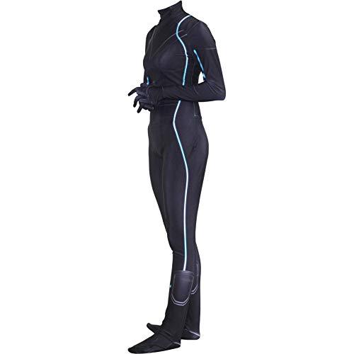 DYB Marvel Avengers Disfraz de Viuda Negra para Adultos Disfraz de pelcula PS4 Anime Zentai Disfraces Mujer Superhroe Cosplay Mono Onesies, Negro-150  155cm-Adornos navideos