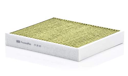 Original MANN-FILTER Filtro de habitáculo FP 26 010 – Filtro de habitáculo biofuncional FreciousPlus – para automóviles