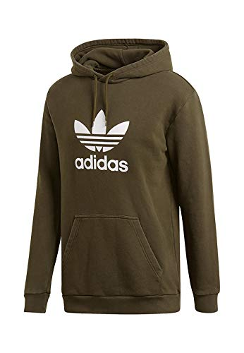 adidas Trefoil Sweat-Shirt à Capuche Homme, Night Cargo, FR (Taille Fabricant : 2XL)