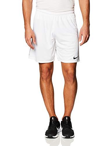 Nike League Knit II Shorts Homme, Blanc/Noir/Noir, L