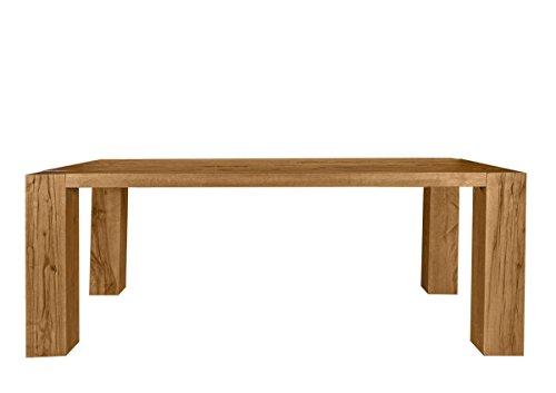 Esstisch Goliath Table Finish: Oiled, Size: 77cm H x 180 cm W x 100cm D