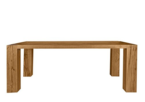 Esstisch Goliath Table Finish: Oiled, Size: 77cm H x 180 cm W x 100cm D