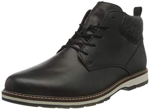 Rieker Herren 30520 Mode-Stiefel, schwarz, 45 EU