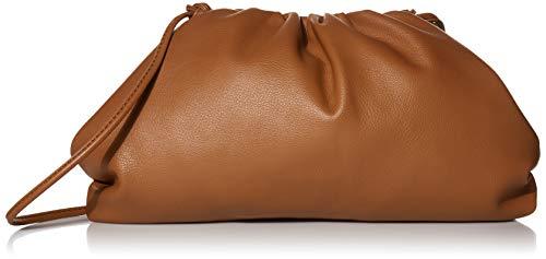 The Drop Damen-Handtasche Pouch Bag Francesca, Croissant-Stil, Mokka, Einheitsgröße