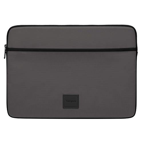 Targus Urban - Custodia protettiva per computer portatile da 13 a 14 , design sottile ed elegante, per studenti universitari e professionisti, colore: grigio (TBS93404GL)