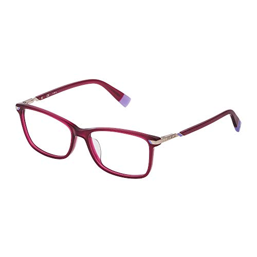 Furla Brille Vista VFU300 09GR 53-15-135 Damen Opalrot glänzend
