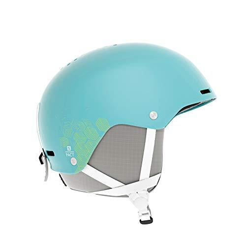SALOMON(サロモン) スキーヘルメット スノーボードヘルメット ジュニア PACT Aruba JRXSサイズ L40572000
