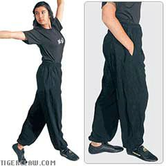 Tiger Claw Lightweight Kung Fu Pants - Size 4