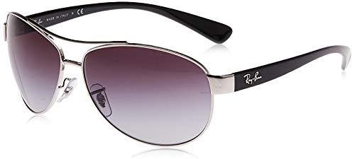 Ray-Ban MOD-3386 Ray-Ban Sonnenbrille MOD. 3386 Aviator Sonnenbrille 63, Silber