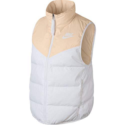 Nike W NSW WR DWN Fill Vest Rev–Gilet, Donna, Multicolore (Guava Ice/White/White)