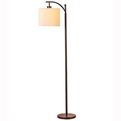 JIANWEI Lámpara De Piso Moderna Minimalista Estadounidense Lámpara De Pie Vertical De Trabajo Vertical para Sala De Estar Sofá Estudio Estudio