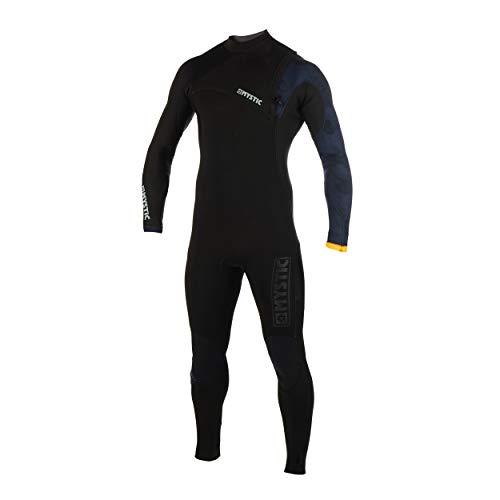 Mystic Mens Majestic 4/3mm Zip Free Wetsuit Black 190080 Wetsuit Size - M