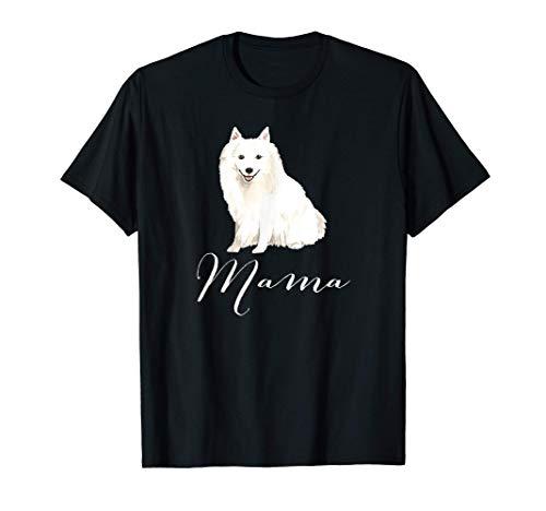 Japanese Spitz Dog Mama Gift, Japanese Spitz Dog Mom Present Camiseta