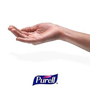 PURELL Advanced Hand Sanitizer, Refreshing Gel, 12 fl oz Sanitizer Table Top Pump Bottle (Case of 12) - 3659-12