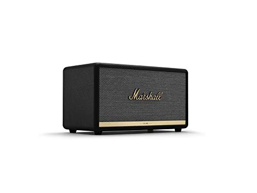 Marshall ワイヤレススピーカー Stanmore BT II ブラック 高音質/aptX対応 【国内正規品/保証2年】