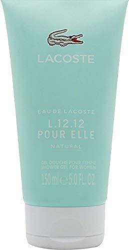 Lacoste L.12.12 Pour Elle Natural femme/woman, Duschgel, 150 g