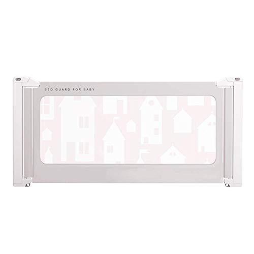 ZHAS Einzelkleinkind-Bettgitter, tragbare klappbare Sicherheitsbettschutzvorrichtung, platzsparend Babybettlaufschutzvorrichtungen (Größe: 200 cm)