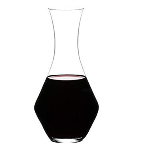 Decantador de Vino El aireador de vino Decantador soplado mano sin plomo Cristal Marca-Nuevo Diseño Vino tinto elegante y licores garrafa Set Cristalería ( Color : Photo colors , Size : 24x11.5cm )