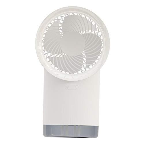 perfk Ventilador de Escritorio Alimentado por USB Ventilador de Refrigeración O Coche de Oficina en Casa - Blanco, Individual