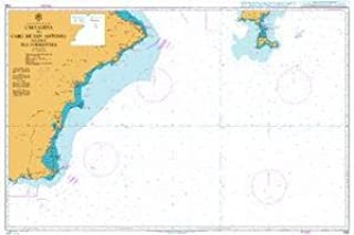 South Coast Of Spain Map.Amazon Com Ba Chart 1700 Spain A South East Coast Cartagena To