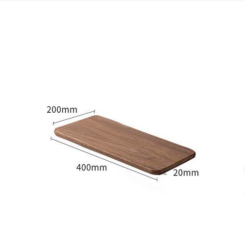 Zwevende Planken, Houten Decoratieve, Zwevende Plank Tv-Componenten, Garage/Schuur/Magazijn/Vrijstaande Opslagplanken,Massief Houten Rek-400 * 200 * 18 Mm