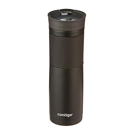 Contigo 507490 Byron Snapseal Mug, Matte Black 709 ml Capacity, Black
