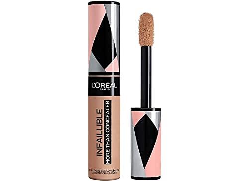 L Oréal Paris Correttore a Lunga Tenuta Infaillible More Than a Concealer, Formula Extra Coprente in Una Sola Passata, 329 Cashew