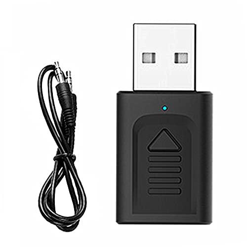 balikha Transmisor Y Receptor 4 en 1 Bluetooth 5.0 2 Dispositivos Simultáneamente para TV