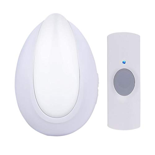 AcePoint Night Light Wireless Doorbell Series, 2-in-1 Plug-in Wireless Door bell w/LED Night Light Function, Long Operating Range