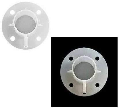 Gazebo 3 m x 3 m piezas de repuesto poste pie placa base pies conector 32 mm x1 Gazzebo parasol toldo esquina adaptador poste conector blanco