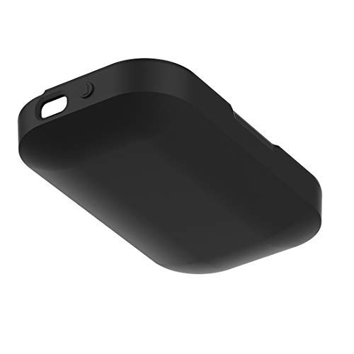 AWADUO for Plantronics Voyager Legend Case Cover, Protective Silicone Case Cover Shell for Plantronics Voyager Legend Charger Case, Soft and Durable(Silicone Black)