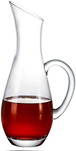 YZ-YUAN Botella de champán de Vino Tinto de Cristal sin Plomo soplado...