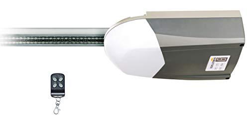 Schellenberg 60560 Garagentorantrieb Drive Action, Garagentor Antrieb für Tore bis 8 m², Zugkraft 500 N - für Sektional- und Schwingtore geeignet, inkl. 1 Handsender und Notentriegelung