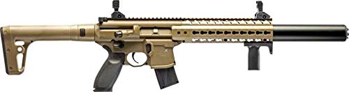 Sig Sauer MCX .177 Cal CO2 Powered Air Rifle (30 Rounds), Flat Dark Earth