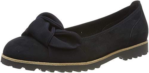 Gabor Shoes Gabor Jollys, Ballerines femme - Bleu (Pazifik/Ocean(Cogn 16), 43 EU (9 UK)