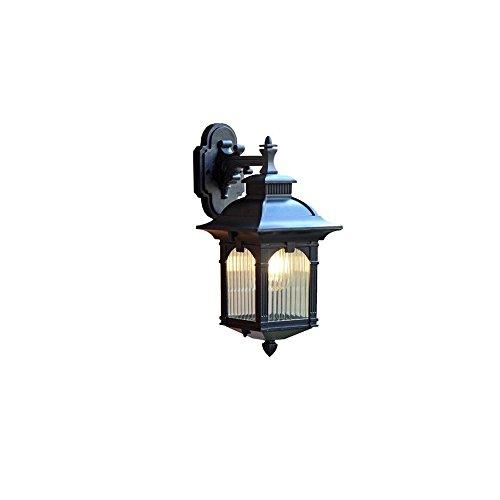 Lampe de sécurité étanche étanche pour mur de garage avant 1-lumière extérieure extérieure mur lampe de support