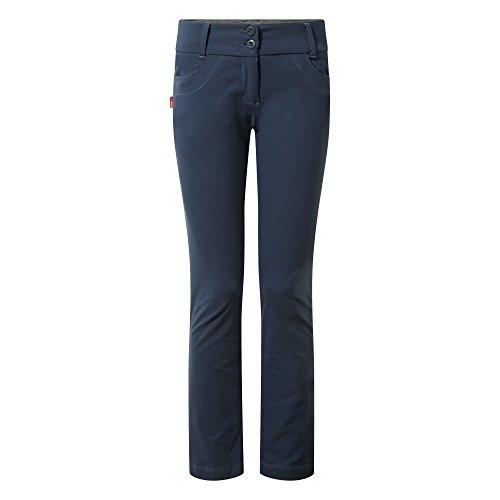 Craghoppers Ladies NosiLife Clara Navy Pantalons souple 20 Leg Regular