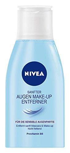 Nivea Sanfte Augen Make-Up Entferner Lotion für wasserlösliche Mascara und Make-Up, 1er Pack (1 x...