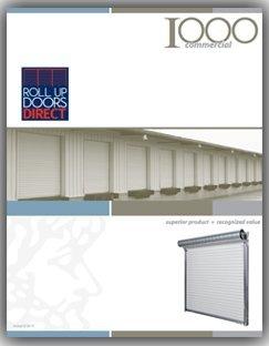 Best Buy! Roll Up Door 10ft W x 10ft H, Model 1000 .