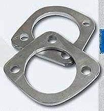 3-Bolt Weld-On Exhaust Flange Kit - Make Pipes for S.T.D. Shovelheads/Panheads