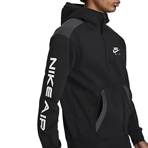 Nike Air Full Zip Hoody (Black, m)
