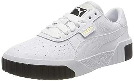 PUMA Cali Wn's, Zapatillas Mujer, Blanco (White/Black/White), 39 EU