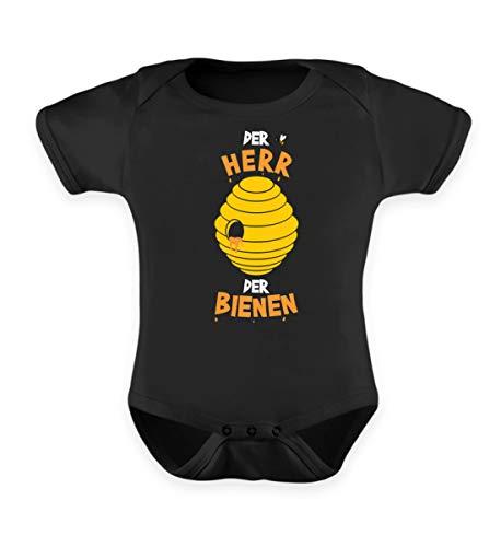 Imker Geschenk Herr der Bienen Bienenzüchter T-Shirt Bienenzucht Imkerei Spruch Shirt - Baby Body