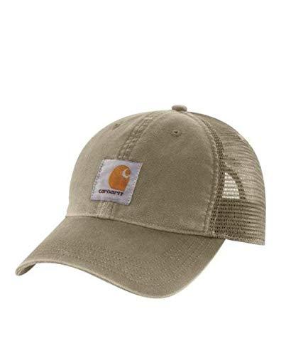 Carhartt Buffalo Cap - Burnt Olive 100286 391 Hüte Mütze Kappe Baseball-Cap Männ CH100286391-One Size