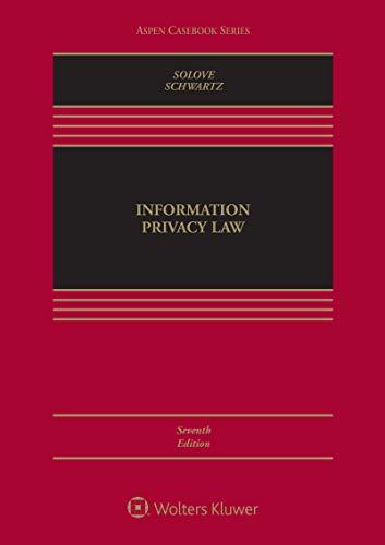 Information Privacy Law (Aspen Casebook Series) (English Edition)