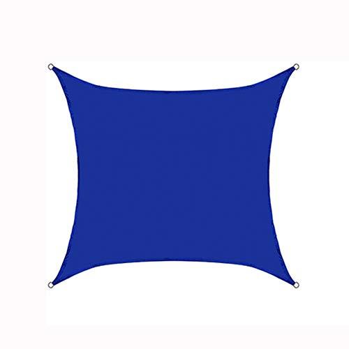 Quadratische Markisen, Dachterrasse Mit Außenterrasse Und Balkon, Wärmeisolierung Für Den Haushalt Und Regensicheres Sonnenschutztuch,Blau,3.6x3.6x3.6m